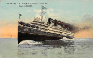 10843  The New S.S. City of Cleveland, Detroit and Cleveland Navigation Co.