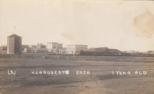 RP: KERROBERT , Saskatchewan , CANADA, 1900-10s ; 1 Year Old