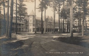 RP: LAKE SPOFFORD , New Hampshire, 1920 ; Pine Grove Springs Hotel