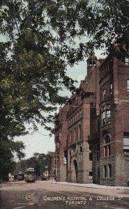 TORONTO, Ontario, Canada, PU-1910; Children's Hospital & College Street
