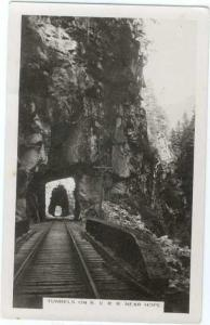 RP Tunnels on the Kettle Valley Railroad near Hope BC Canada
