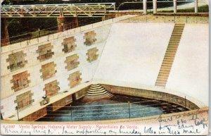 Havana Cuba Vento Springs Habana's Water Supply c1907 Rotograph Postcard G86