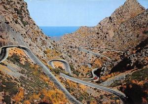 Spain Mallorca Carretera de La Calobra
