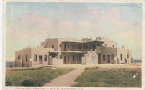 ALBUQUERQUE , New Mexico , 1912 ; Kwataka Boy's Dorm , U. of N.M.