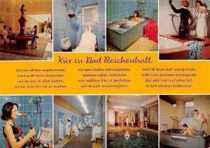 Kur in Bad Reichenhall, Brunnen Schwimmbad, Swimming Pool Bathtub Spa