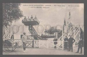 105335 UK Earls Court Exhibitin London Twins Ride Western Gard