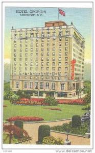 Hotel Georgia ,Vancouver, BC ,Canada , 30-40s