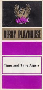 Time & Time Again Alan Ayckbourn Derby 1970s Playhouse Theatre Programme