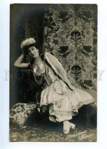 150471 ARNOLDSON Swedish OPERA Star Tamara DEMON vintage PHOTO