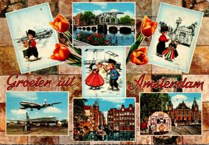 Netherlands Greetings From Amsterdam Multi View