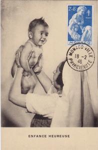 MONACO - Enfance Heureuse , PU-1946
