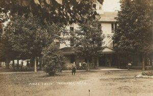 RP: TOPINABEE , Michigan , 1900-10s ; Pikes Tavern