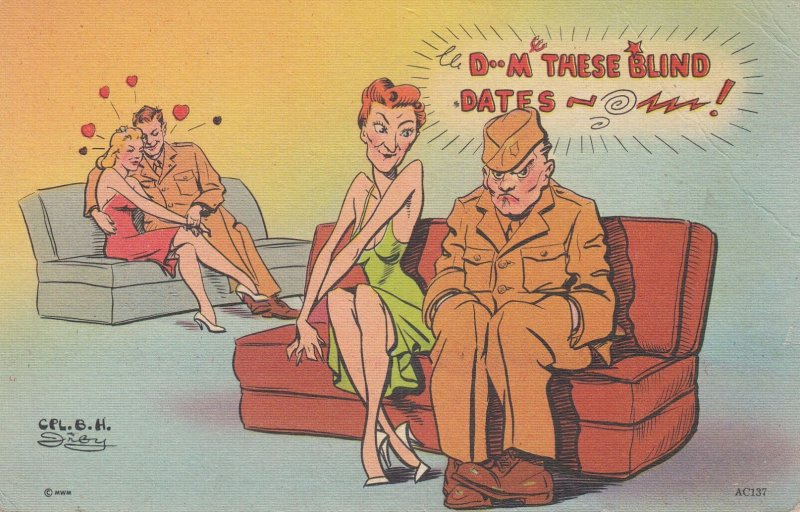 IRBY: Dam these blind dates , 1930-40s