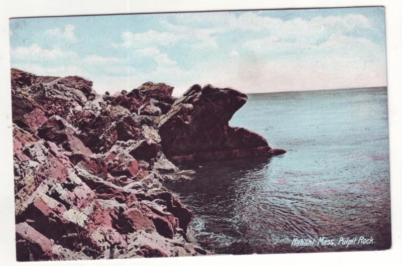 P562 JLs old pulpit rock, ocean nahant mass unused