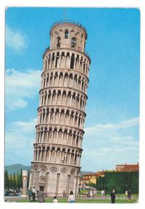 Pisa Italy Leaning Tower Tuscany Postcard