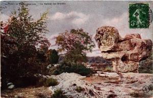 CPA Foret de FONTAINEBLEAU - Le Sphinx des Druides (166600)