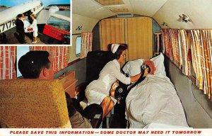 Washington DC Special Air Services Airplane Ambulance Nurse Postcard AA11613