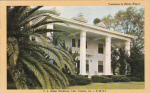 Louisiana Lake Charles T L Huber Residence 1947 Dexter Press