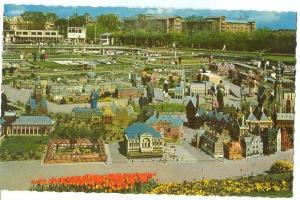Miniatuurstad Madurodam, Den Haag, Panorama, 1960s unused