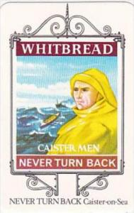 Whitbread Brewers Trade Card Maritime Inn Signs No 15 Never Turn Back Caister...