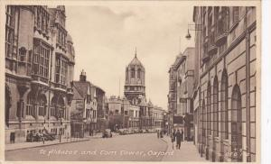 St Aldates and Tom Tower , OXFORD , England , 1910-20s