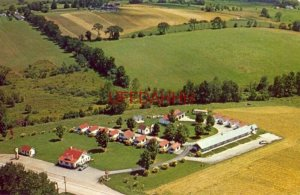 aerial view of THE VERMONTER, BENNINGTON, VT. Marjorie and Francis Field, Owners
