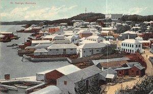 Bermuda Post card Old Vintage Antique Postcard St. George Postal used unknown