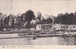 Lake District , Boat Landing , BOWNESS , England , 00-10s : TUCK