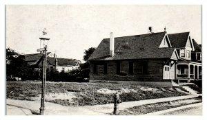 RPPC Corner of St. Paul & 33rd Street, Baltimore, MD or Lincoln, NE? Postcard