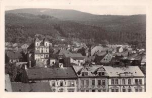 LITVINOV USTI nad LABEM CZECHOSLOVAKIA CELKOVY POHLED PHOTO POSTCARD 1955