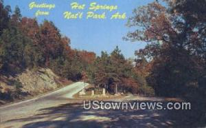 Hot Springs National Park, AR, Post Card    ;    Hot Springs National Park, A...