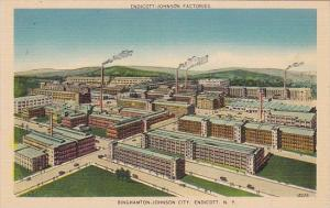 Endicott-Johnson Factories Binghampton-Johnson City Endicott New York