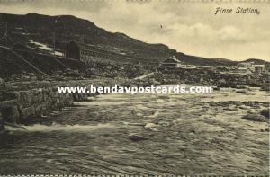 norway norge, FINSE, Bergensbanen, Railway Station, Panorama (1910s)