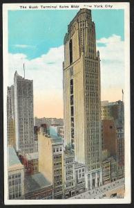 Bush Terminal Sales Building New York New York Unused c1920s
