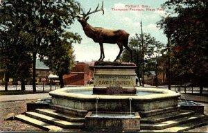 Oregon Portland Plaza Park Thompson Fountain