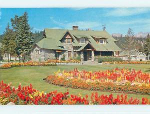 Pre-1980 TOWN VIEW SCENE Jasper Alberta AB p9400