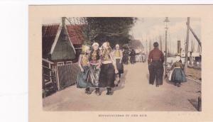 Zondagmiddag op den Dijk, Netherlands, 1900-10s