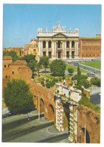 Italy Rome Church Basilica S Giovanni John Laterano Postcard