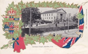 HALIFAX, Nova Scotia, Canada, PU-1905; Garrison Chapel, Coat Of Arms