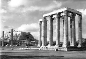 Greece Athens Temple of Olympian Zeus Olympieion