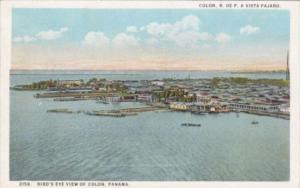 Panama Colon Birds Eye View 1926