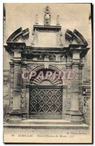 Old Postcard Aurillac Gate Museum of Entree