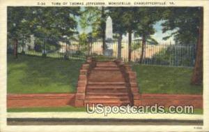 Tomb of Thomas Jefferson