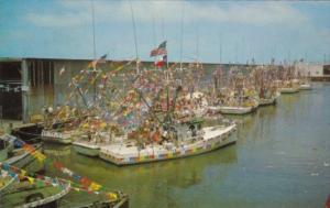 Texas Galveston Annual Blessing Of The Shrimp Fleet