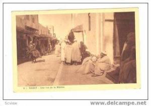 RABAT- Une rue de la Medina, PU 1943