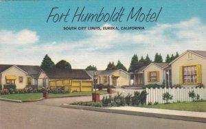 California Eureka Fort Humboldt Motel sk2671