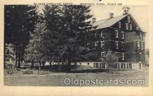 Shaker Postcard Postcards  Hancock, Mass USA