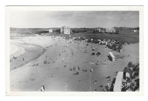 France Saint Briac Plage du Port Hue Beach GABY Glossy Photo 1950 Postcard