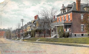 View of Ross Ave. Wilkinsburg Pennsylvania, PA