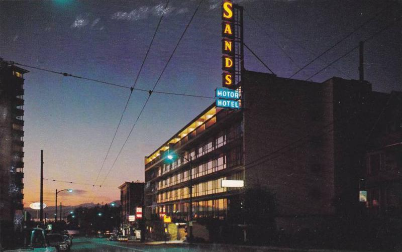 Exterior, Vancouver Sands Travelodge,  Vancouver,  B.C.,  Canada,  40-60s